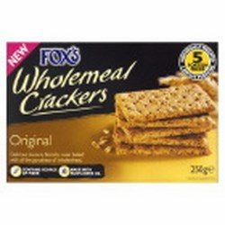 Foxs Savoury Biscuits