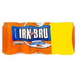Irn Bru Soft Drinks