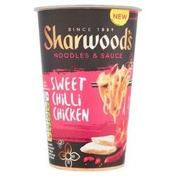 Sharwoods Snack Pots