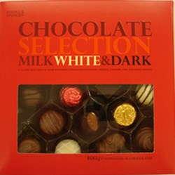 Marks and Spencer Chocolate.