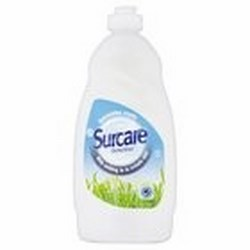 Surcare Washing Up Liquid.