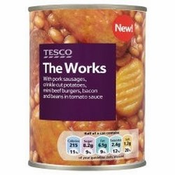 Tesco Ready Meals.