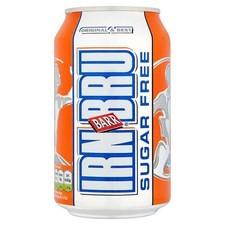Retail Pack Irn Bru Sugar Free 24 X 330ml Cans