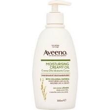 Aveeno Moisturising Creamy Oil with Sweet Almond Oil and Colloidal Oatmeal 300ml