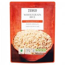 Tesco Microwave Wholegrain Rice 250g