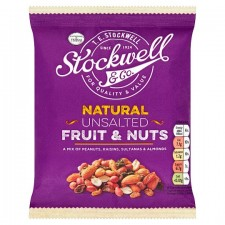 Stockwell And Co Natural Unsalted Fruit And Nut Mix 200G