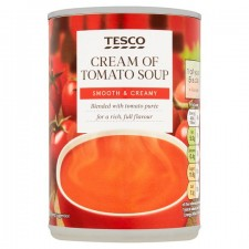 Tesco Cream Of Tomato Soup 400g