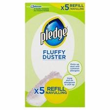 Pledge Fluffy Duster Refills 5s