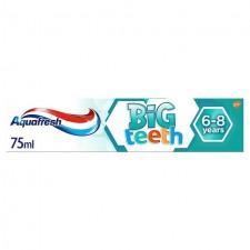 Aquafresh Big Teeth Toothpaste 6-8 years 75ml