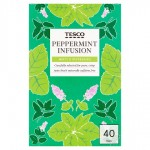 Tesco Peppermint Tea 40 Teabags
