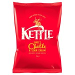 Retail Pack Kettle Chips Sweet Chilli and Sour Cream 18 x 40g Box