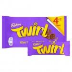 Cadbury Twirl Chocolate 4 pack