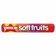 Retail Pack Trebor Soft Fruits 40x45g Roll Pack