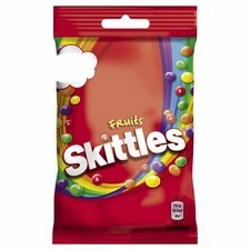 Retail Size Skittles Fruits 12 x 125g