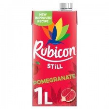 Rubicon Pomegranate Juice Drink 1Ltr Carton