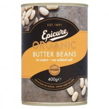 Epicure Organic Butter Beans 400g