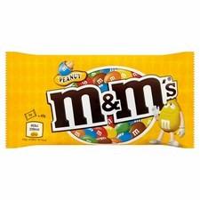 Retail Pack M&M Peanut (Yellow Bag) 24x45g