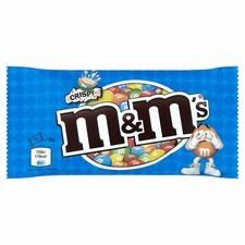 Retail Pack M&Ms Crispy (Blue Bag) 36gx24