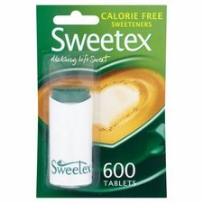 Sweetex Sweetener 600 Tablets