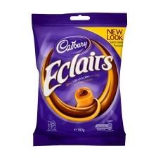 Retail Pack Cadbury Eclairs 12x130g