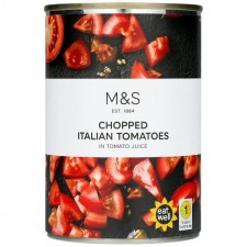 Marks and Spencer Chopped Italian Tomatoes 400g