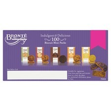 Bronte Indulgent and Delicious Biscuits Mini Packs 5 Varieties 20 Packs
