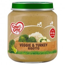 Cow and Gate Stage Veggie and Turkey Risotto 125g