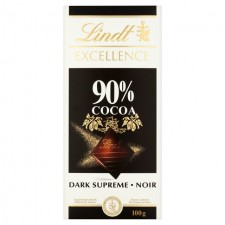 Lindt Excellence Chocolate 90% Cocoa 100g