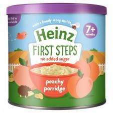 Heinz Breakfast Peachy Porridge 7 Months 240g