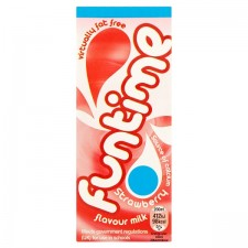 Retail Pack Funtime Strawberry Flavour Milkshake 30 x 200ml