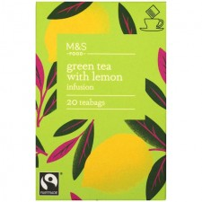Marks and Spencer Green Tea and Lemon 20 Teabags