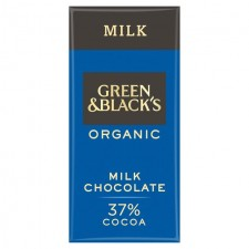 Green and Blacks Organic 37% Milk Chocolate 90g