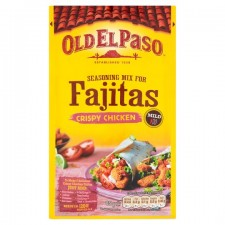 Old El Paso Seasoning Mix for Crispy Chicken Fajitas 85g