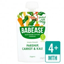 Babease Organic  Parsnip Carrot and Kale 100g