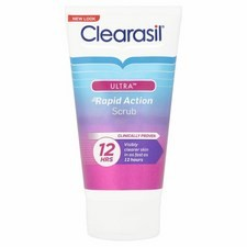 Clearasil Ultra Rapid Action Scrub 125ml
