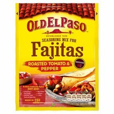 Old El Paso Fajitas Spice Mix for Roasted Tomato and Pepper Fajitas 30g