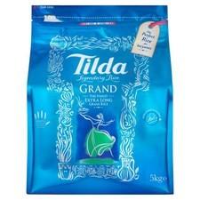 Tilda Grand Basmati Extra Long Rice 5kg