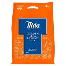 Tilda Golden Sella Rice 5kg