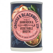 Crosse And Blackwell Best Of British Ham Hock and Vegetable Broth 400g