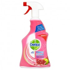 Dettol Clean and Fresh Pomegranate and Lime Spray 1Lt