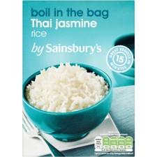 Sainsburys Thai Jasmine Rice 4x125G