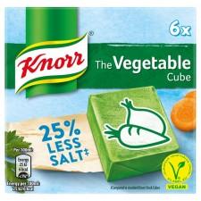 Knorr Reduced Salt Vegetable Cubes 6 Pack