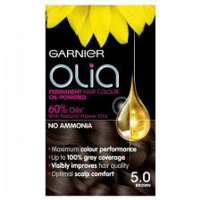 Garnier Olia Permanent Hair Colour 5.0 Brown