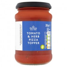 Morrisons Tomato and Herb Pizza Topper 265g
