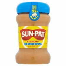 Sun-Pat Crunchy No Added Sugar Peanut Spread 400g