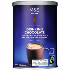 Marks and Spencer Fairtrade Drinking Chocolate 250g