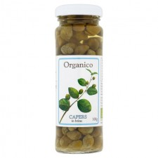 Organico Capers in Brine 100g