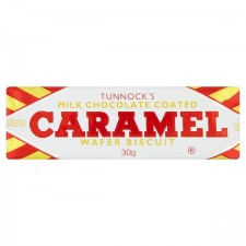 Catering Pack Tunnocks Chocolate Caramel  Wafer 48 Pack