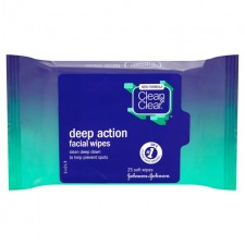 Clean and Clear Face Wipes 25 per pack