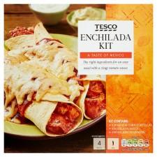 Tesco Enchilada Dinner Kit 650g